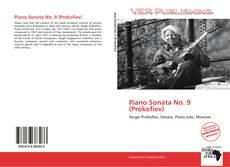 Обложка Piano Sonata No. 9 (Prokofiev)