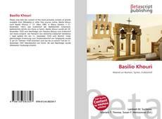 Basilio Khouri kitap kapağı
