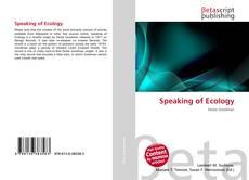 Copertina di Speaking of Ecology
