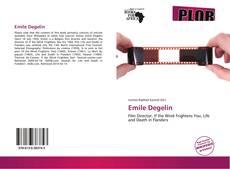 Buchcover von Emile Degelin