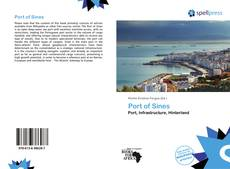 Bookcover of Port of Sines