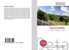 Buchcover von Basilius Köhler