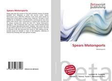 Spears Motorsports kitap kapağı