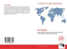 Bookcover of Ho People