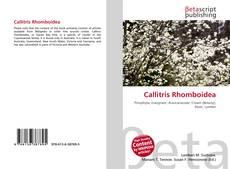Callitris Rhomboidea的封面