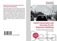 Обложка Useful Conversions and Formulas for Air Dispersion Modeling