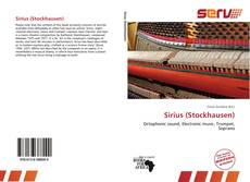 Bookcover of Sirius (Stockhausen)