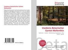 Buchcover von Usedoms Botanischer Garten Mellenthin