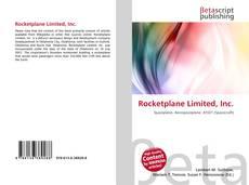 Rocketplane Limited, Inc. kitap kapağı