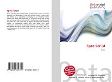 Bookcover of Spec Script