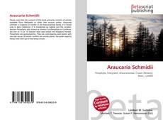 Portada del libro de Araucaria Schmidii