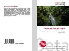 Buchcover von Araucaria Hunsteinii