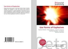 Capa do livro de Use Forms of Explosives