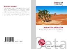 Portada del libro de Araucaria Montana