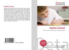 Bookcover of Orphan School
