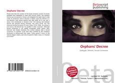 Обложка Orphans' Decree