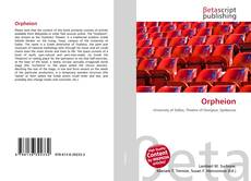 Orpheion kitap kapağı