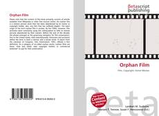 Bookcover of Orphan Film