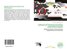 Обложка School of Communication and Information