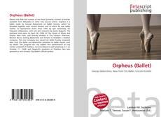 Capa do livro de Orpheus (Ballet)