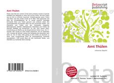 Portada del libro de Amt Thülen