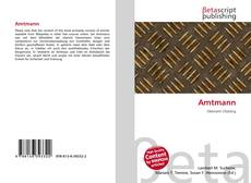 Bookcover of Amtmann