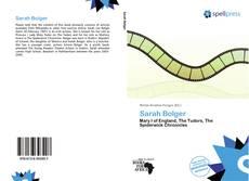 Borítókép a  Sarah Bolger - hoz