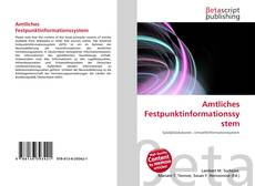 Capa do livro de Amtliches Festpunktinformationssystem