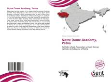 Bookcover of Notre Dame Academy, Patna
