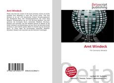 Bookcover of Amt Windeck