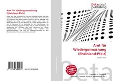 Copertina di Amt für Wiedergutmachung (Rheinland-Pfalz)