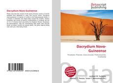Capa do livro de Dacrydium Novo-Guineense