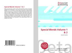 Bookcover of Special Blends Volume 1 & 2