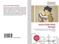 Bookcover of Kamen Rider Black (Manga)