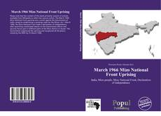 Portada del libro de March 1966 Mizo National Front Uprising