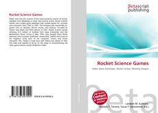 Bookcover of Rocket Science Games