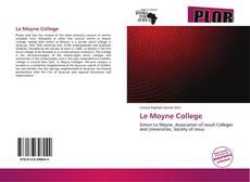 Bookcover of Le Moyne College