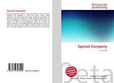 Buchcover von Special Company
