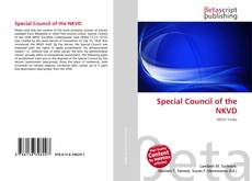 Bookcover of Special Council of the NKVD