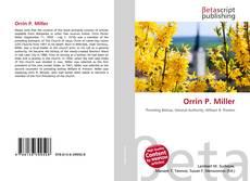 Bookcover of Orrin P. Miller