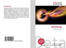 Bookcover of Amtsberge