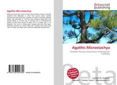 Bookcover of Agathis Microstachya