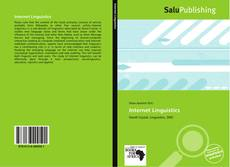 Couverture de Internet Linguistics