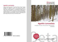 Bookcover of Agathis Lanceolata