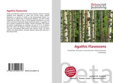 Bookcover of Agathis Flavescens