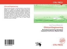 Bookcover of Clinical Engineering