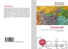 Bookcover of Shirhatti (Bk)