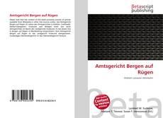 Amtsgericht Bergen auf Rügen的封面