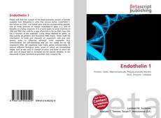 Bookcover of Endothelin 1