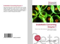 Обложка Endothelin Converting Enzyme 1